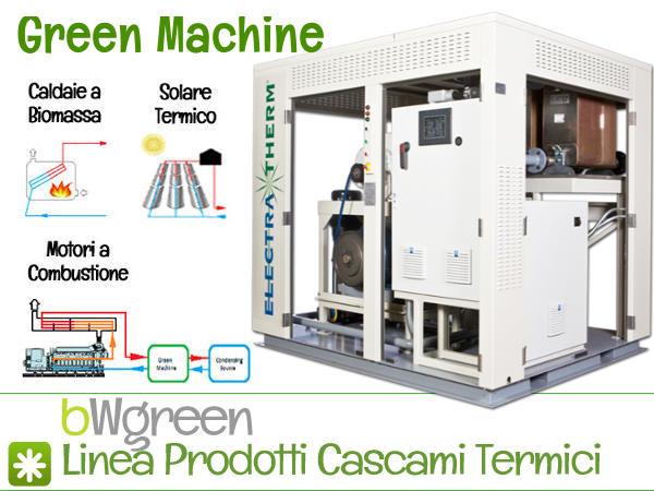 Green Machine Energia Elettrica da Sorgenti di Calore a Bassa Temperatura