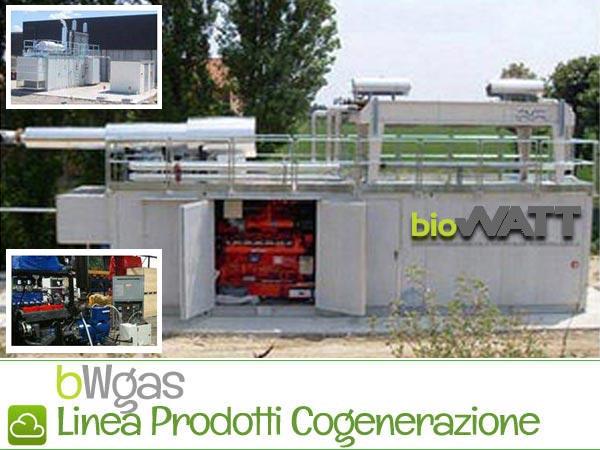 Cogenerazione a Gas Naturale – Prodotti BioWATT