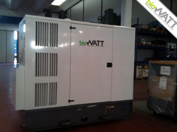 Impianto BioWATT Chemistry & Biology Company in Staad (Switzerland) 110 kWe