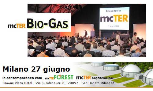 mcTER – Biogas a Milano il 27 giugno 2013