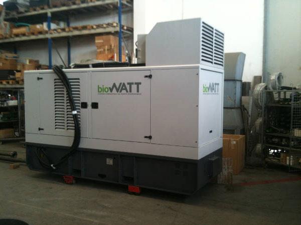 Impianto BioWATT Villaggio Sportivo in Piazzola sul Brenta (PD) 60 kWe