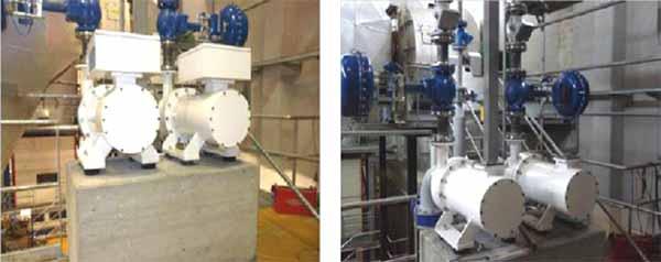 Installazione di 2 turbine ORC