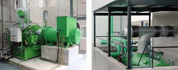 Installazione di Turbina a Vapore