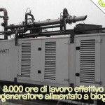 Oltre 8.000 ore di attività nel primo anno di installazione per il cogeneratore BioWATT dell'Az. Agr. Ambruosi e Viscardi