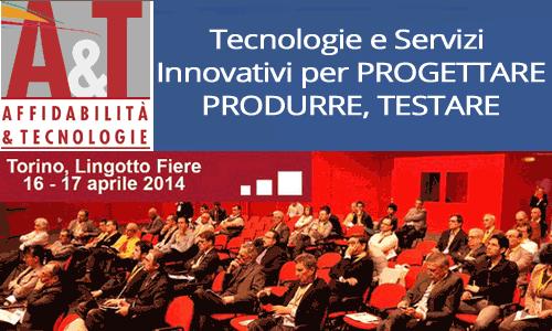 AFFIDABILITÁ & TECNOLOGIE 2014 – La manifestazione per l'Innovazione Competitiva