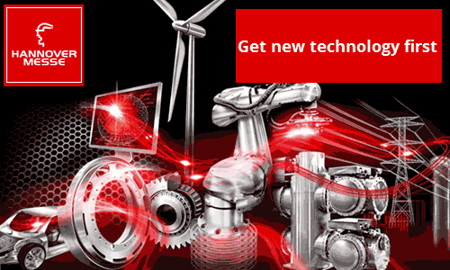 HANNOVER MESSE 2014 – Get new technology first