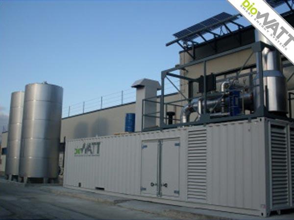 Impianto BioWATT presso Hotel in Monteprandone (AP) da 480 kWe