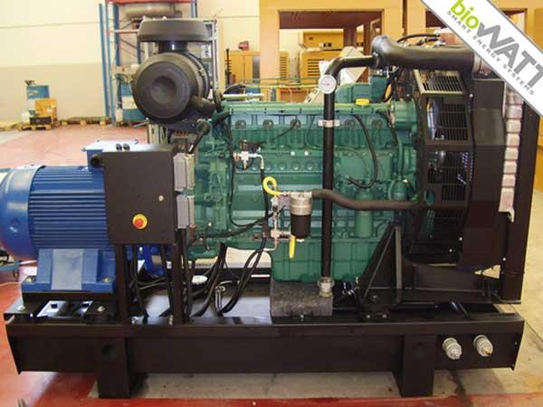 Impianto BioWATT presso Industria in Casale Monferrato (AL) da 100 kWe