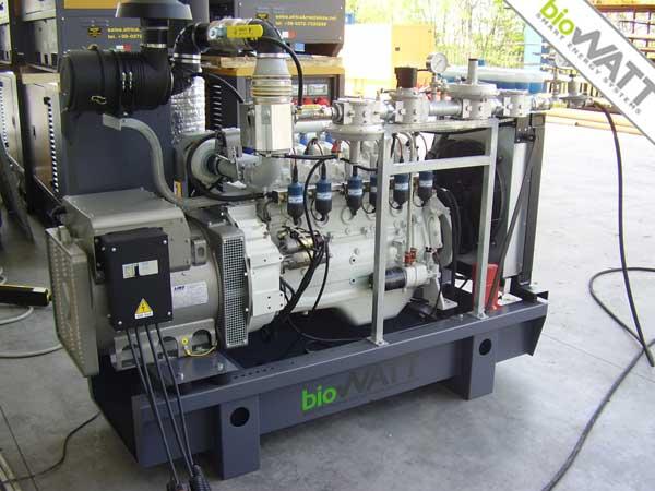 Impianto BioWATT presso Az. Agromeccanica in Crema (CR) da 50 kWe