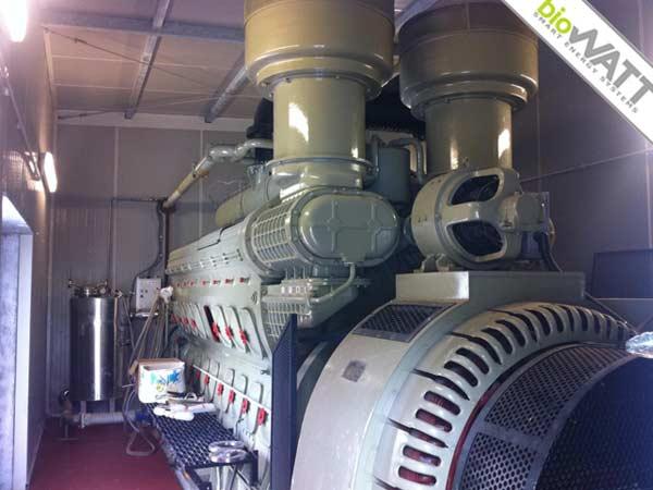 Impianto BioWATT presso industria privata in Campomorone (GE) da 1000 kWe