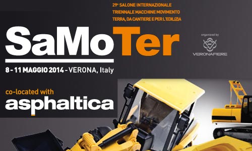 Samoter 2014 – Salone Internazionale Macchine Movimento Terra