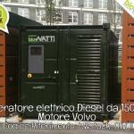 Pronta Consegna: Generatore elettrico da 150 kVA Volvo | Rif. bWstock-01VOL