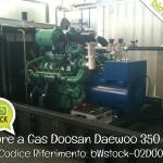 Pronta Consegna: Motore a Gas Doosan Daewoo 350 kWm | Rif. bWstock-02DOO