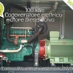 Pronta Consegna: Cogeneratore 100 kWe Diesel Volvo | Rif. bWstock-04VOL