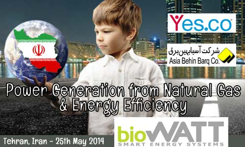 Meet BioWATT, YesCo & Asia Behin to benefit from the Italian experience about Power Generation from Natural Gas and Energy Efficiency applications