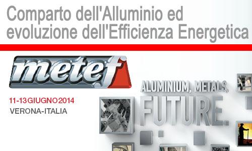 Metef Expo – Comparto dell'Alluminio ed Evoluzione dell'Efficienza Energetica