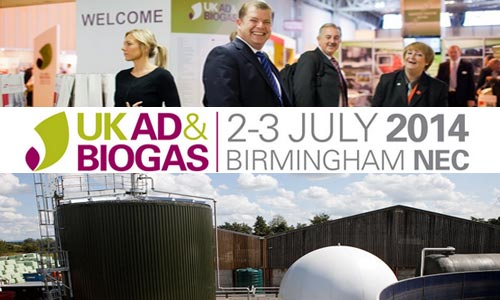 UK AD & Biogas 2014 – Anaerobic Digestion Trade Show