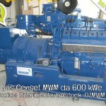 Pronta Consegna: Gas Genset MWM da 600 kWe | Rif. bWstock-07MWM
