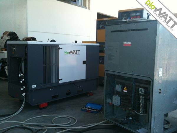 Impianto BioWATT consegnato a distributore in Alaquàs (Valencia) 38 KVA (PRP)