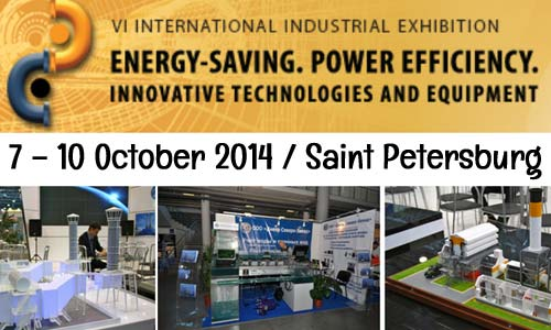 Power Efficiency & Energy Saving international exhibition in Saint Petersburg