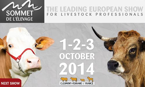 Sommet Elevage 2014 – The Livestock leading european show
