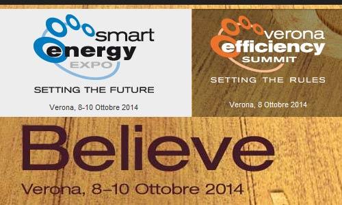 Smart Energy Expo 2014 e Verona Efficiency Summit